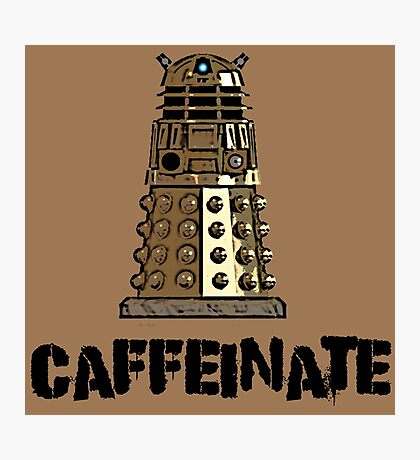 Iskybibblle Products /Dalek Coffee Photographic Print