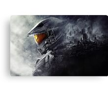 "Halo Master Chief ""Illusions"" Canvas Print"