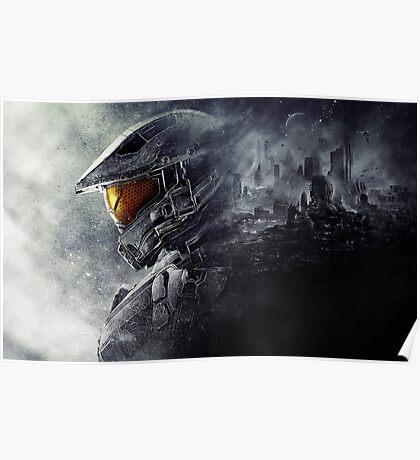 "Halo Master Chief ""Illusions"" Poster"