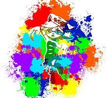 Inkling Marie - Splatter v2 by LauryQuinn