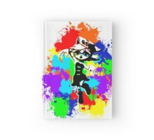 Inkling Marie - Splatter  Hardcover Journal