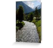 Stream Gruner Greeting Card