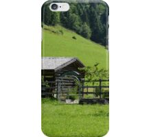 Farm House in the Valley iPhone Case/Skin