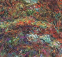 Claude Monet - The Rose Walk, Giverny, 1920-22 Sticker