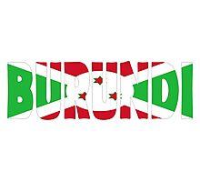 Burundi Photographic Print