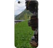 Logs in the Valley iPhone Case/Skin