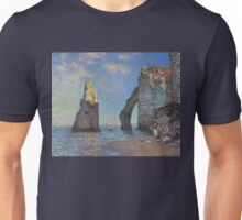 Claude Monet - The Cliffs at Etretat Unisex T-Shirt