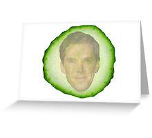 Benedict Cucumberbatch Greeting Card