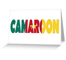 Camaroon Greeting Card