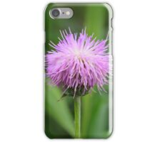 Wild purple flower iPhone Case/Skin