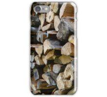 Firewood iPhone Case/Skin