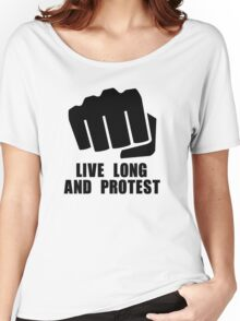 Live Long Women's Relaxed Fit T-Shirt