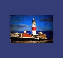 An enhanced photograph of The Lighthouse, Gibraltar Unisex T-Shirt