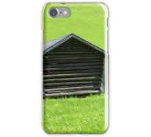 Farmhouse in the Rolling Green iPhone Case/Skin
