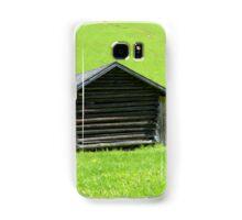 Farmhouse in the Rolling Green Samsung Galaxy Case/Skin