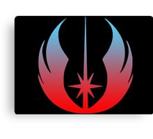 Star Wars Jedi Logo Canvas Print