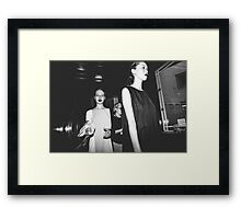 "London Fashion Week ""End Of Show"" Framed Print"