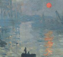 Claude Monet - Impression, Soleil Levant Sticker