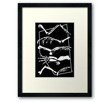 Fingers To The Bone Framed Print