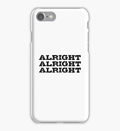 Movie Actor Quote Cool Badass iPhone Case/Skin