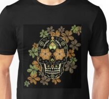 Day of The Dead colorful sugar Skull Unisex T-Shirt