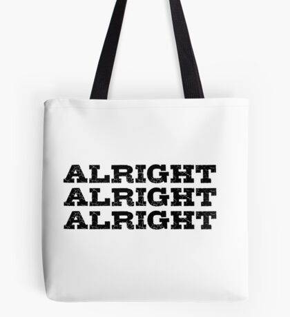 Movie Actor Quote Cool Badass Tote Bag