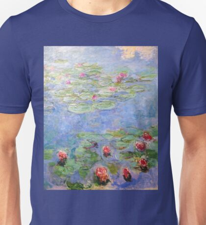 Claude Monet - Water Lilies Unisex T-Shirt