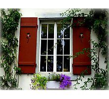 Pretty Window Photographic Print
