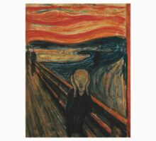 Edvard Munch - The Scream One Piece - Short Sleeve