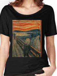 Edvard Munch - The Scream Women's Relaxed Fit T-Shirt