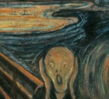 Edvard Munch - The Scream Sticker