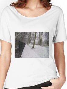 Snow Path Women's Relaxed Fit T-Shirt