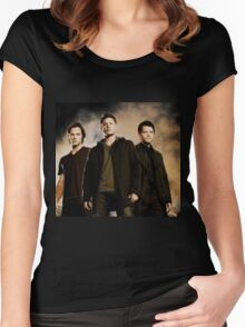 Supernatural Trio Women's Fitted Scoop T-Shirt