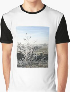 White Frost Graphic T-Shirt