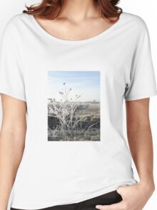 White Frost Women's Relaxed Fit T-Shirt