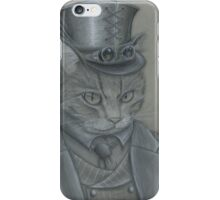 Steampunk Cat iPhone Case/Skin