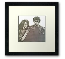 Veronica and JD Framed Print