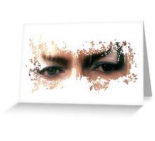 David Bowie: Jareth Eyes  Greeting Card