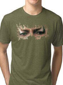 David Bowie: Jareth Eyes  Tri-blend T-Shirt