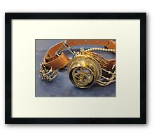 Steampunk Goggles Framed Print