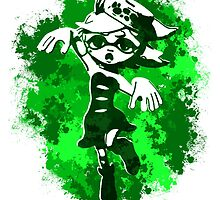 Inkling Marie - Green by LauryQuinn