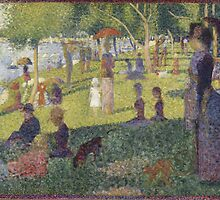 Georges Seurat's A Sunday Afternoon on the Island of La Grande Jatte by mosfunky