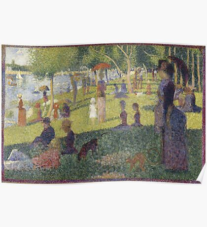 Georges Seurat's A Sunday Afternoon on the Island of La Grande Jatte Poster