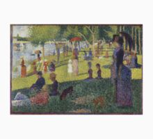 Georges Seurat's A Sunday Afternoon on the Island of La Grande Jatte One Piece - Long Sleeve