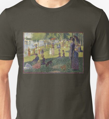 Georges Seurat's A Sunday Afternoon on the Island of La Grande Jatte Unisex T-Shirt