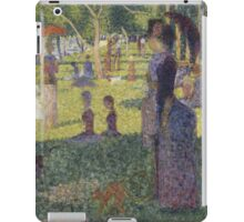 Georges Seurat's A Sunday Afternoon on the Island of La Grande Jatte iPad Case/Skin