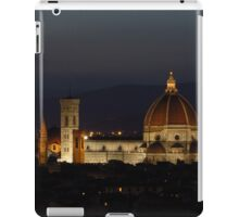Basilica of Saint Mary of the Flower at Night iPad Case/Skin