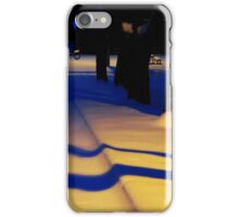long blue shadows iPhone Case/Skin