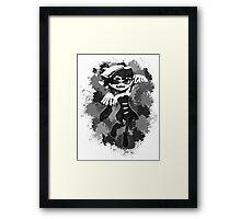 Inkling Callie - BW Framed Print