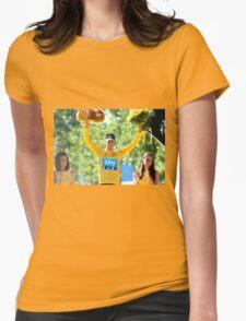 Bradley Wiggins 2012 Womens Fitted T-Shirt